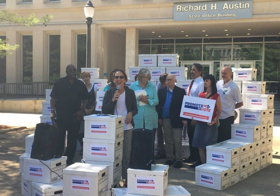 Voting rights group files lawsuit over ballot proposal