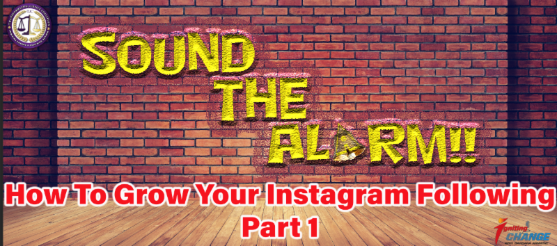 How to grow your Instagram following, Part 1